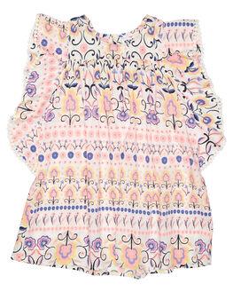 FOLKY PRINT KIDS TODDLER GIRLS EVES SISTER DRESSES - 8000061PRNT