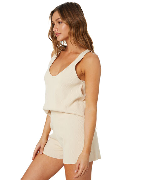 NATURAL OUTLET WOMENS ZULU AND ZEPHYR SINGLETS - ZZ3377NAT