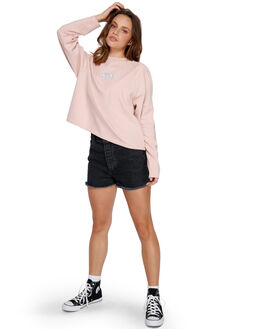 ROSE BLUSH WOMENS CLOTHING RVCA JUMPERS - RV-R291152-RSB