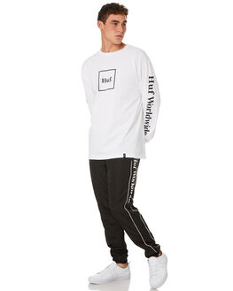 BLACK MENS CLOTHING HUF PANTS - PT00067-BLACK