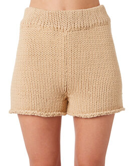 CAMEL WOMENS CLOTHING ZULU AND ZEPHYR SHORTS - ZZ2852CCAM
