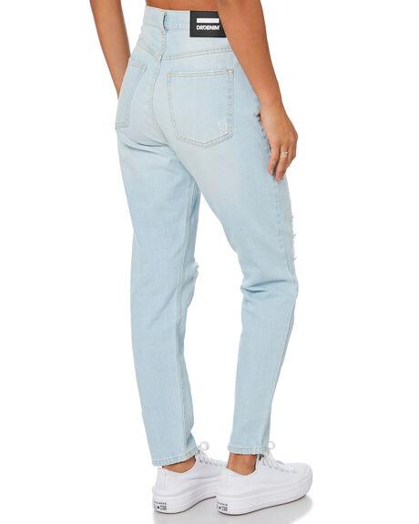 SUPERLIGHT BLUE WOMENS CLOTHING DR DENIM JEANS - 2020103H66