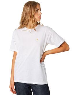 WHITE GOLD WOMENS CLOTHING CARHARTT TEES - I0264810290