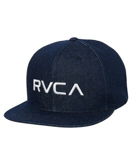 DEEP INDIGO MENS ACCESSORIES RVCA HEADWEAR - R362567LDIND