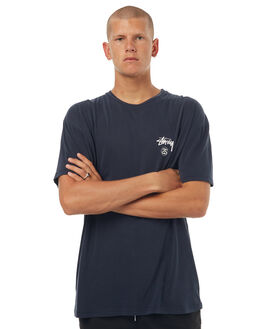PIGMENT NAVY MENS CLOTHING STUSSY TEES - ST072019PNVY