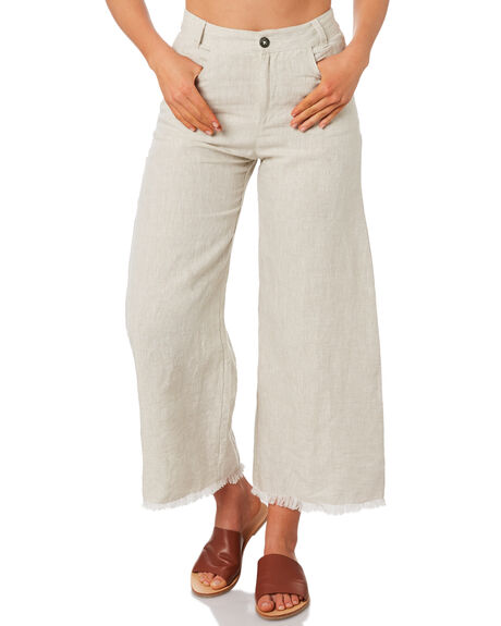 SAND WOMENS CLOTHING THE HIDDEN WAY PANTS - H8184198SAND