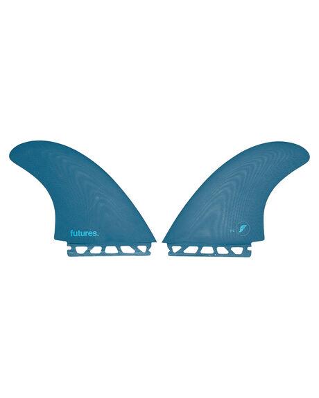 TEAL BOARDSPORTS SURF FUTURE FINS FINS - 1024-227-20TEAL