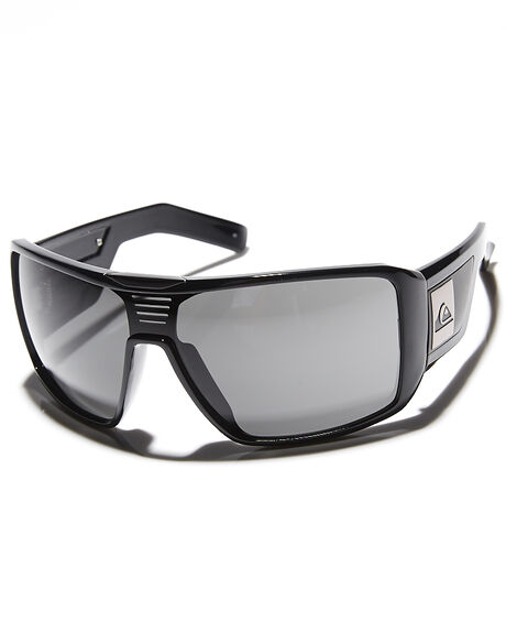 BLACK GREY MENS ACCESSORIES QUIKSILVER SUNGLASSES - OQMS1182229