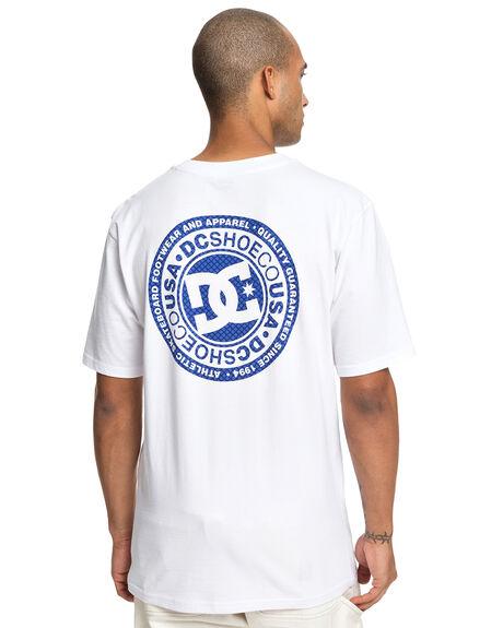 SNOW WHITE MENS CLOTHING DC SHOES TEES - UDYZT03583-WBB0