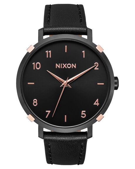 BLACK ROSE GOLD CAGE MENS ACCESSORIES NIXON WATCHES - A1091-3221