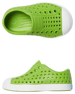 SPRING GREEN KIDS TODDLER BOYS NATIVE FOOTWEAR - 13100100-3426