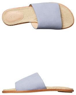 BLUE SUEDE WOMENS FOOTWEAR URGE FASHION SANDALS - URG17075BLUE