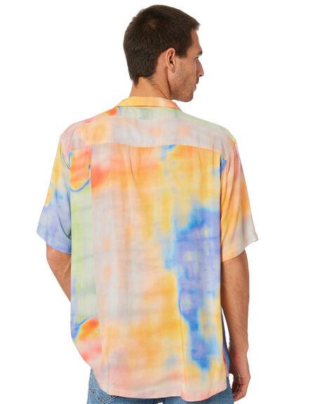 ORANGE MENS CLOTHING STUSSY SHIRTS - ST005403ORNG