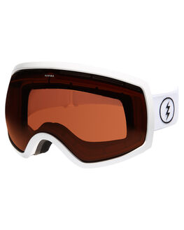 GLOSS WHT BROSE SNOW ACCESSORIES ELECTRIC GOGGLES - EG0516110BRSE