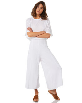 WHITE WOMENS CLOTHING ZULU AND ZEPHYR PANTS - ZZ2212WHT