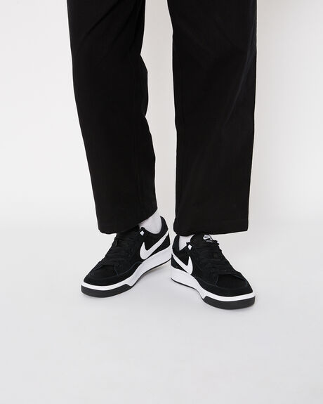 BLACK WHITE MENS FOOTWEAR NIKE SNEAKERS - CJ0887-001