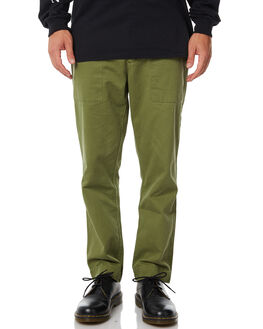 ARMY GREEN MENS CLOTHING THRILLS PANTS - TA8-401FARMY