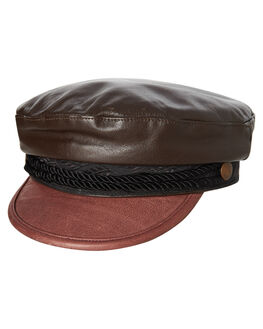 BROWN MENS ACCESSORIES FALLENBROKENSTREET HEADWEAR - SS18-22-01BRN