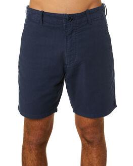 NAVY MENS CLOTHING DEUS EX MACHINA SHORTS - DMA203541NVY