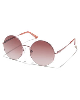 ROSE GOLD ROSE GRAD WOMENS ACCESSORIES ROXY SUNGLASSES - ERJEY03056XMMM