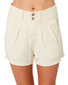 ECRU WOMENS CLOTHING RHYTHM SHORTS - OCT19W-WS01-ECR