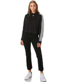 BLACK WOMENS CLOTHING ADIDAS JUMPERS - CY4766BLK