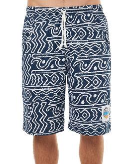 NAVY MENS CLOTHING OKANUI BOARDSHORTS - BORFNV