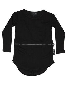 BLACK OUTLET KIDS LIL MR CLOTHING - LM-ZIPPBLK