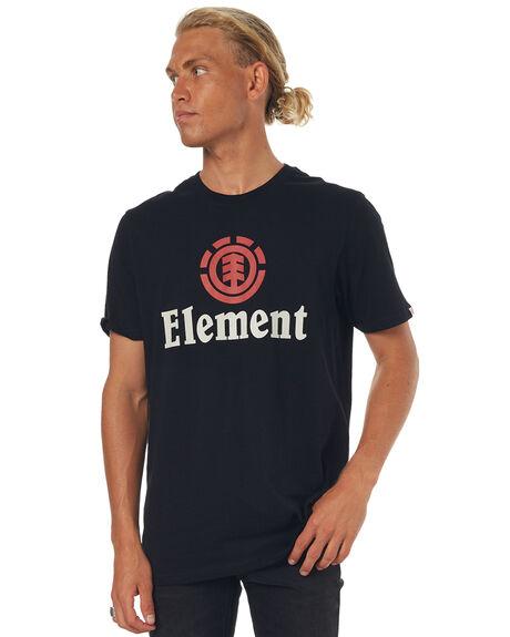 FLINT BLACK MENS CLOTHING ELEMENT TEES - 173014FBLK