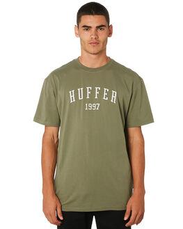 KHAKI MENS CLOTHING HUFFER TEES - MTE91S26.342KHAKI