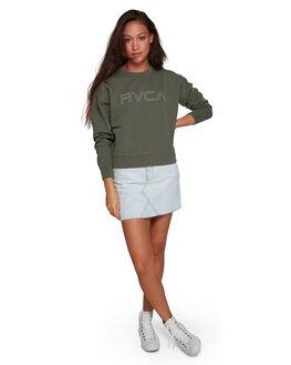 DARK ARMY WOMENS CLOTHING RVCA JUMPERS - RV-R293156-3DA