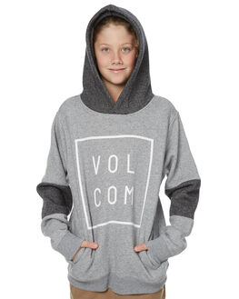 GREY KIDS BOYS VOLCOM JUMPERS - C4131707GRY