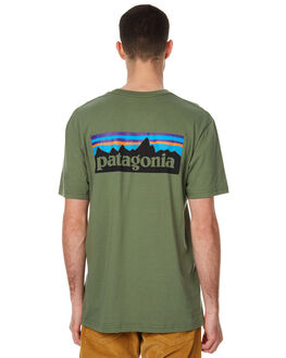 BUFFALO GREEN MENS CLOTHING PATAGONIA TEES - 38906BUFG