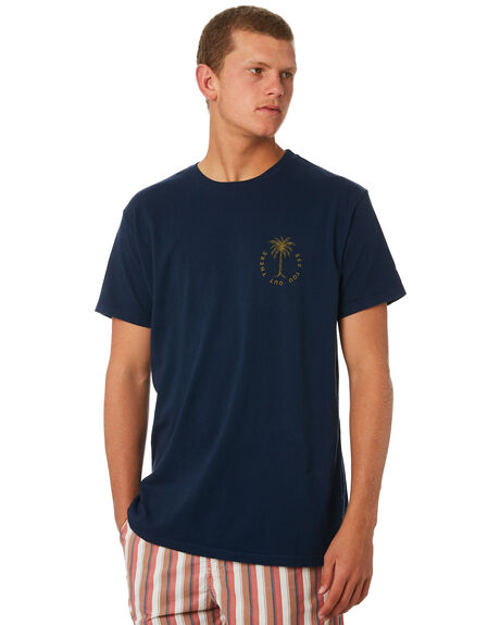 NAVY MENS CLOTHING KATIN TEES - TSPAL03NVY