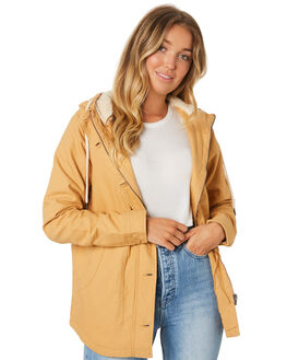 MUSTARD WOMENS CLOTHING RIP CURL JACKETS - GJKCR11041