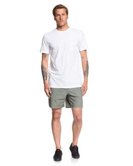 AGAVE GREEN MENS CLOTHING QUIKSILVER SHORTS - EQYWS03610-GZC0