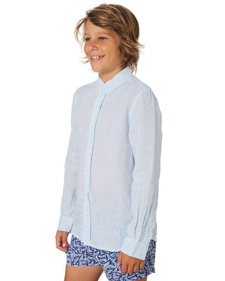 BLUE KIDS BOYS ACADEMY BRAND TOPS - B19S831BLU