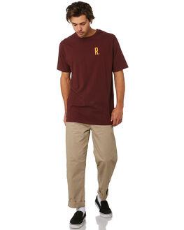 EGGPLANT MENS CLOTHING RPM TEES - 9WMT02CEGGPL
