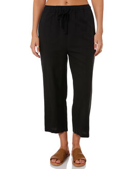 WASHED BLACK WOMENS CLOTHING SWELL PANTS - S8201199BKWSH