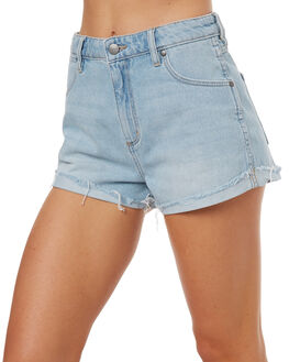 SILVERLAKE WOMENS CLOTHING WRANGLER SHORTS - W-950954-EB6SLK