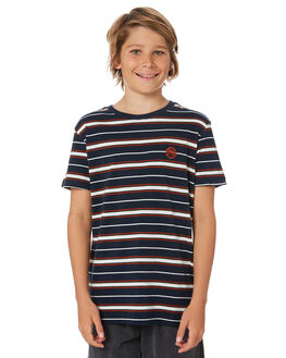 NAVY KIDS BOYS ST GOLIATH TOPS - 2451004NAVY