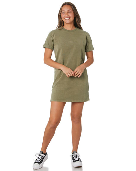 KHAKI WOMENS CLOTHING ALL ABOUT EVE DRESSES - 64X5009KHAK