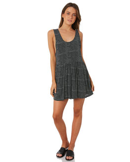 BLACK WOMENS CLOTHING BILLABONG PLAYSUITS + OVERALLS - 6582510BLK
