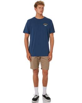NAVY BLUE MENS CLOTHING DEPACTUS TEES - D5202001NAVY