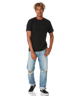 ATLAS BLUE RIPPED MENS CLOTHING DR DENIM JEANS - 2010110I46ABLUR