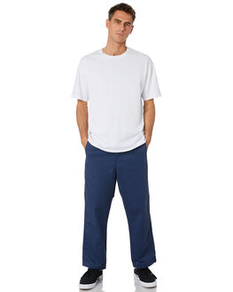 BLUE MENS CLOTHING CARHARTT PANTS - I024924-01BLU