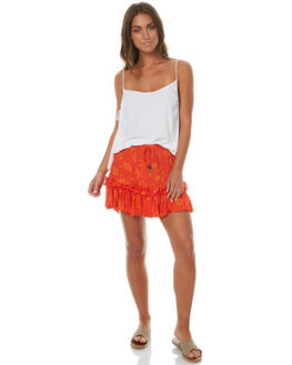 TANGERINE WOMENS CLOTHING RUSTY SKIRTS - SKL0433TNG