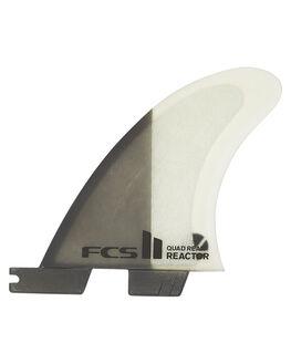 CHARCOAL SURF HARDWARE FCS FINS - FREA-PC02-RS-RCHAR