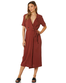 HENNA OUTLET WOMENS RHYTHM DRESSES - APR19W-DR08-HEN