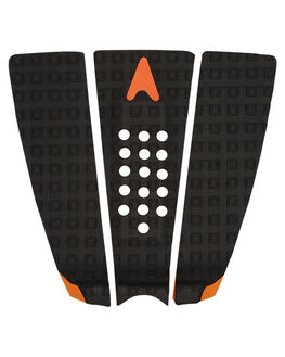BLACK ORANGE SURF HARDWARE ASTRODECK TAILPADS - 984-MGBLK